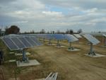 Impianto fotovoltaico ad inseguimento