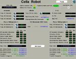Pagina di controllo di una cella frigo